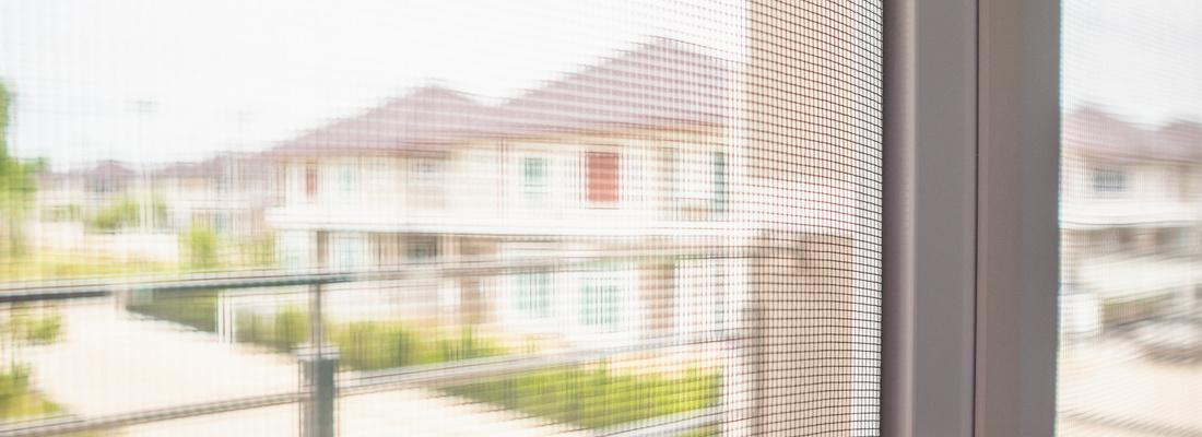 Schutz des Hauses vor Insekten - Moskitonetzen