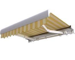 Terrassenmarkise CLASSIC in einer Palladio-Kassette